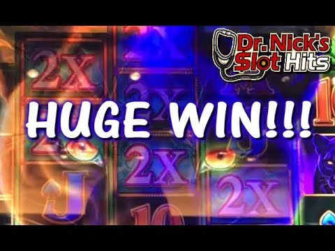 **HUGE WIN!!! PERSONAL BIGGEST WIN ON PROWLING PANTHER!!!** Slot Machine Collection
