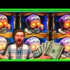 FULL SCREEN ON MAX BET! MASSIVE WIN! Slot Machine Bonuses With SDGuy1234