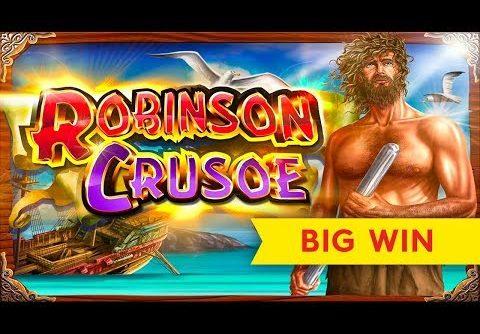 MAJOR PROGRESSIVE! Cash Odyssey Robinson Crusoe Slot – Big Win Session!