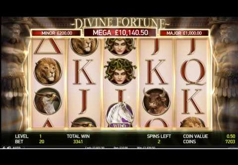 Divine Fortune Slot – Super Mega Win at Wombat Casino!