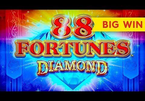 GREAT MULTIPLIER! 88 Fortunes Diamond Slot – BIG WIN BONUS!