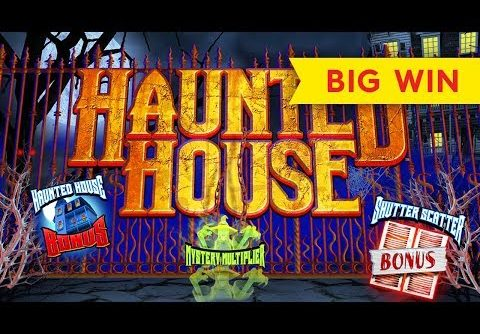 BEST ON YOUTUBE for Haunted House Slot – BIG WIN BONUS!