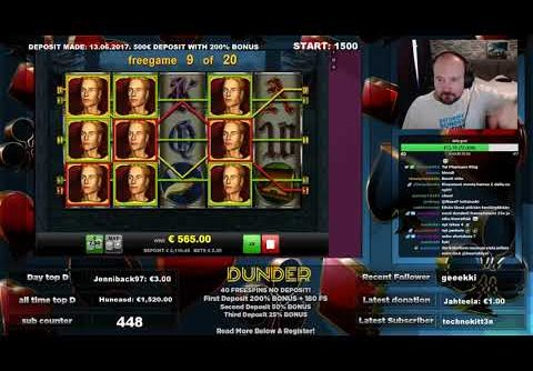 Dunder Casino – Dragons Treasure Slot Gives Big Win