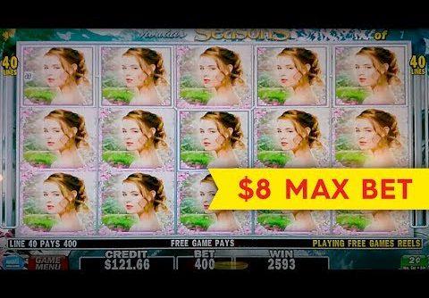 Vivaldi's Seasons Slot – BIG WIN BONUS – $8 Max Bet!