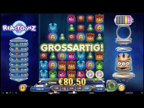 Reactoonz Slot | Mega Win x580