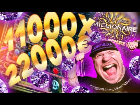 11000X SUPER WIN FROM WHO WANTS TO BE A MILLIONARE SLOT