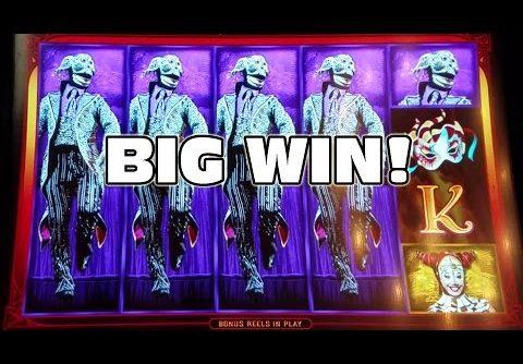 ✖THE WHEEL OF DEATH!!! ✖ CIRQUE DU SOLEIL – KOOZA ✖ BIG WIN ✖ [Slot Machine Big Win Bonus]