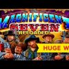 HUGE WIN! The Magnificent Seven Slot – PROGRESSIVE FRENZY!
