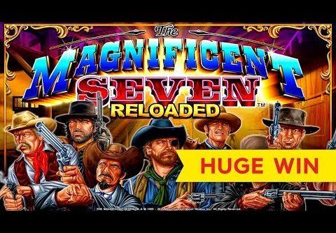 HUGE WIN! The Magnificent Seven Slot – PROGRESSIVE FRENZY!
