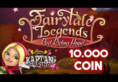 FairyTale  Legends JACKPOT!! 10 000 COİN ile MEGA WİN. (Slot oyunları Serisi)