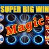 MAGIC! **SUPER BIG WIN** – ALL MAGICAL SLOT FEATURES! – Slot Machine Bonus