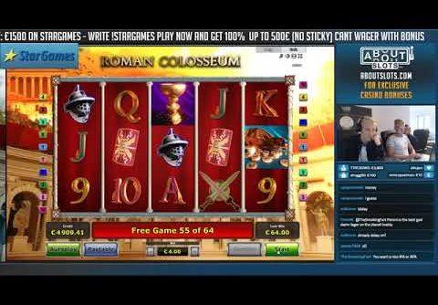 BIG WIN!!!! Roman Colosseum   Casino   Bonus Round Casino Slots