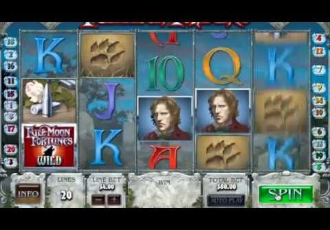 """MEGA WIN! """"Full Moon Fortunes"""" $100/Spin   High Stakes Slots"""