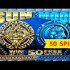 Sun & Moon Slot – BIG WIN BONUS – 50 FREE GAMES BONUS, YEAH!