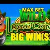 MAX BET! – WILD Lepre'COINS  Slot – BIG WIN!!! – Slot Machine Bonus