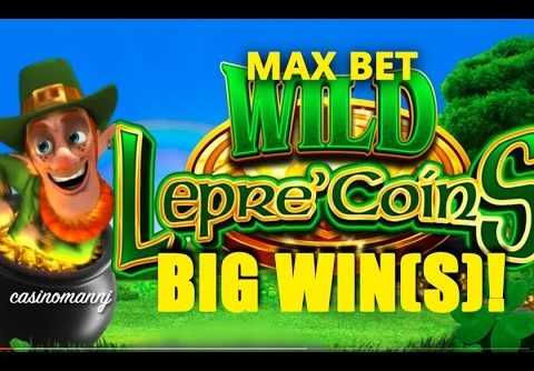 MAX BET! – WILD Lepre'COINS  Slot – BIG WIN!!! – Slot Machine Bonus