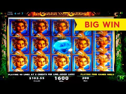 HEART STOPPING! Goddess of Gold Slot – BIG WIN BONUS!