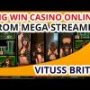 MEGA WIN CASINO FROM VITUSS BRITVA STREAMER. PLAY SLOTS MACHINE SUPER BIG WIN