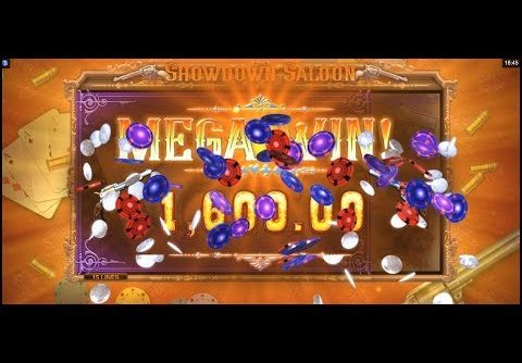 SHOWDOWN SALOON new slot Microgaming (FREESPINS, RESPINS, BONUSES, BIGWIN, MEGAWIN, SUPERBIGWIN)