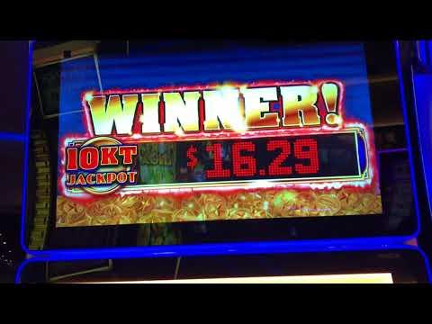 NEW Slot Machine GOLD WINNERS Huge Win