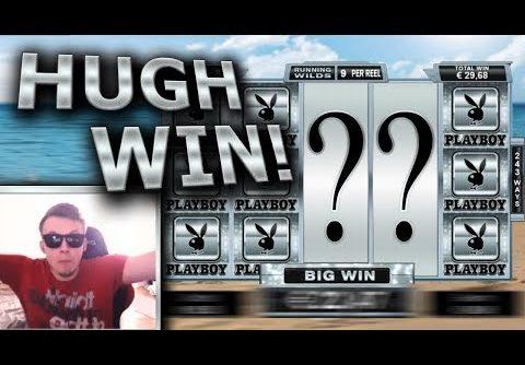 RECORD WIN ON PLAYBOY SLOT – HUGE MEGA BIG WIN –  INSANE LUCK