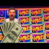 BIGGEST WIN ON YOUTUBE! Wheel O Rama Slot Machine BIG WIN BONUSES!