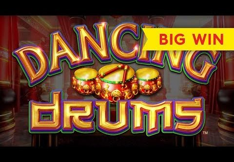 Dancing Drums Slot – $8.80 Max Bet – HUGE WIN, AWESOME!