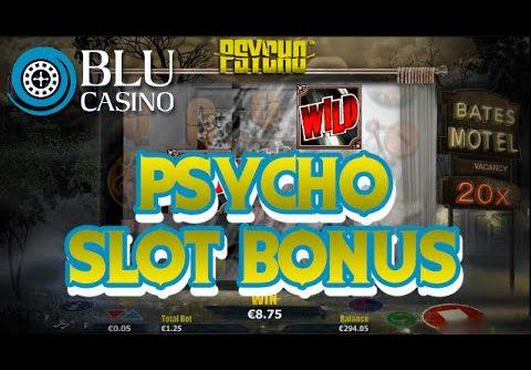 PSYCHO SLOT MEGA WIN. Nextgen Gaming. (Casino Blu)