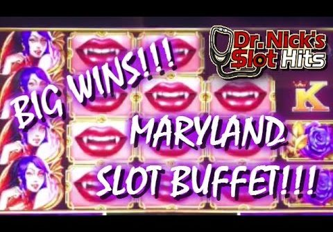 **BIG WINS IN MARYLAND!!!** SLOT BUFFET 2!!!
