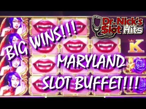 **BIG WINS IN MARYLAND!!!** SLOT BUFFET 2!!!