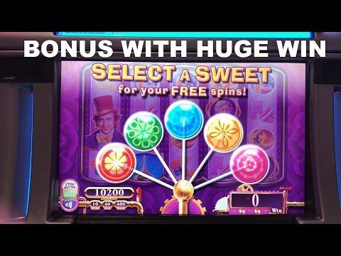Willy Wonka Scrumdiddlyumptious Live play with Bonus and HUGE WIN! Slot Machine