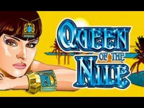 Queen of The Nile II Slot Bonuses BIG WIN- Aristocrat