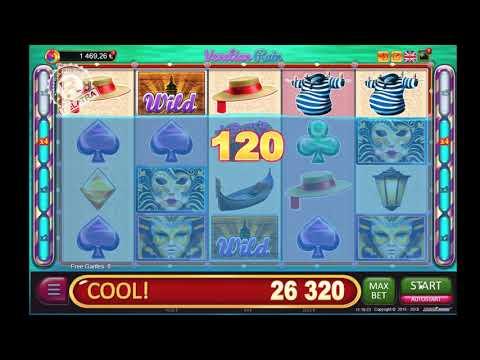 ☁ BIG WIN in slot game online VENETIAN RAIN from Belatra ☁ 693x bet  in FREE GAMES ☁
