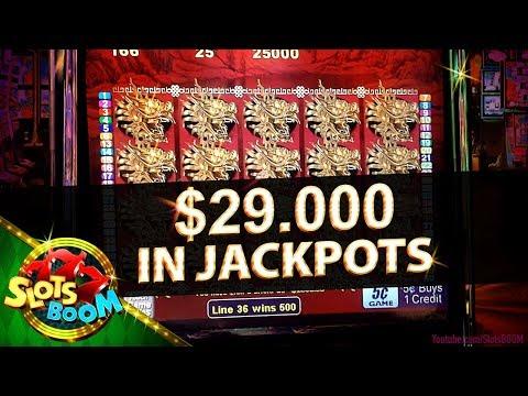 $29.000 in JACKPOTS !!! MEGA WINS IN SAN MANUEL CASINO!!!