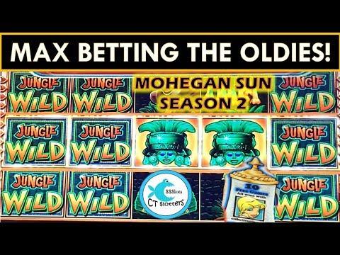 SUPER BIG WINS ON OLD SLOTS! MAX BET BONUSES! JUNGLE WILD SLOT MACHINE AND MORE!