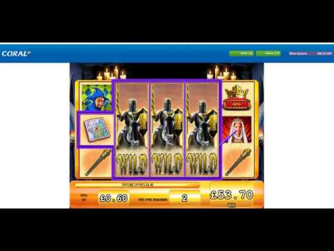 Black Knight Slot, Free Spins, Super Big Win