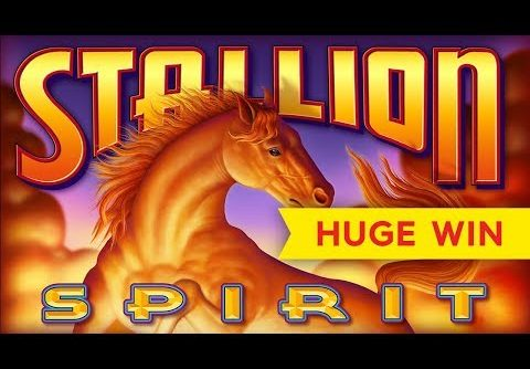 HUGE WIN! Stallion Spirit Slot – RETRIGGER BONUS!