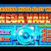 **MASSIVE WIN** – MEGA VAULT SLOT – 2X-3X-4X-4X-4X – MEGA SLOT WIN – Slot Machine Bonus