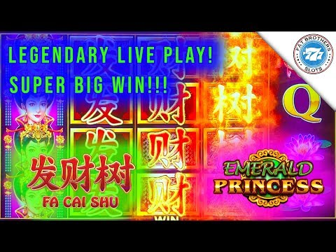 SUPER BIG WIN! Emerald Princess Fa Cai Shu New Slot! Max Bet Bonus!