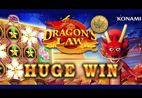 HUGE WIN – DRAGON'S LAW HOT BOOST – FUN @ CURACAO – Slot Machine Bonus
