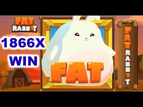TOP 5 BIGGEST WIN ON FAT RABBIT SLOT – MONSTER NICE WIN 1866X !!!!!