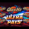 🎇 🎆 QUICK HIT ULTRA PAYS 🎇 🎆 – BIG WIN! – 🐶Slot Machine Bonus