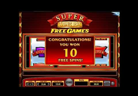Five Times Pay Slot Huge Win