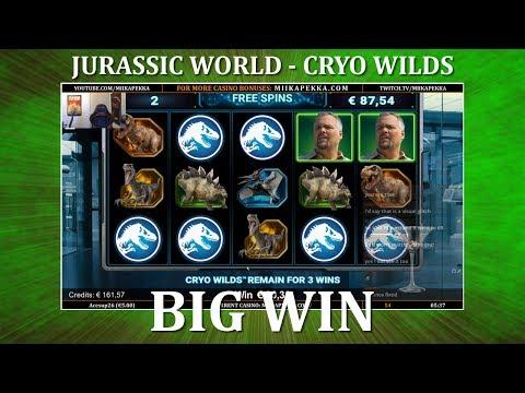 BIG WIN – Jurassic World – Creation Lab – NEW SLOT !!
