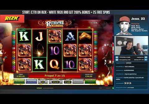 BIG WIN!!!! Rumpel Wildspins   Casino   Bonus Round Casino Slots