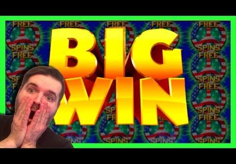 🇺🇸🇺🇸 BIGGEST WIN ON YOUTUBE 🇺🇸🇺🇸 On Star Spangled Riches Slot Machine W/ SDGuy1234
