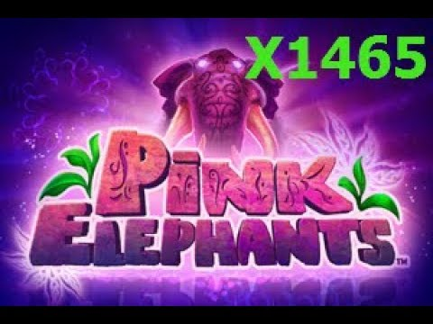 "Pink Elephants ""RECORD"" JUMBO BIG WIN X1465 on 50RUB BET (NEW SLOT!)."