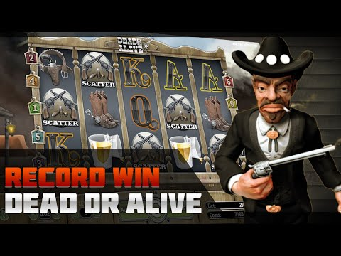 DEAD OR ALIVE SLOT – RECORD WIN £41,233. TOP 5 MASSIVE WIN. CASINO ONLINE