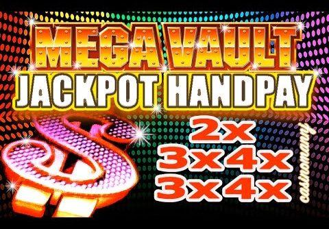 MASSIVE HUGE WIN! – **JACKPOT HANDPAY** – MEGA VAULT SLOT – LIVE! – Slot Machine Bonus