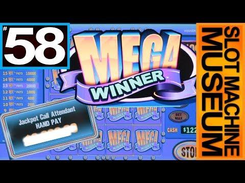 MEGA WINNER (Bally) – JACKPOT & BIG WINS  – GRANDFATHER OF LIGHTNING LINK [Slot Museum]~Slot Review